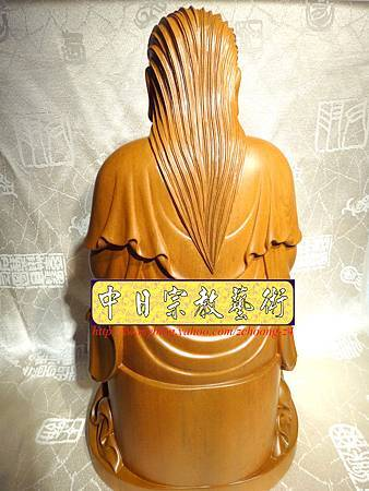 L2916.北極玄天上帝(武當山版本)梢楠木神像雕刻.JPG