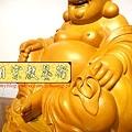 L3009.彌勒佛木雕佛像 一貫道彌勒菩薩(樟木).JPG