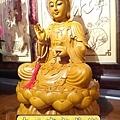 L3107.神桌神像雕刻特輯~觀世音菩薩木雕佛像 1尺6高度-樟木.JPG