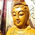 L3111.神桌神像雕刻特輯~觀世音菩薩木雕佛像 1尺6高度-樟木.JPG