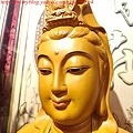 L3112.神桌神像雕刻特輯~觀世音菩薩木雕佛像 1尺6高度-樟木.JPG