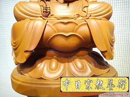 L3207.神桌佛像雕刻~台灣國寶梢楠木觀世音菩薩佛像.JPG