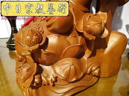 L3317.紫竹岩觀音 肖楠木竹林觀音木雕佛像.JPG