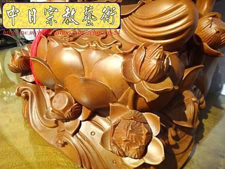 L3318.紫竹岩觀音 肖楠木竹林觀音木雕佛像.JPG