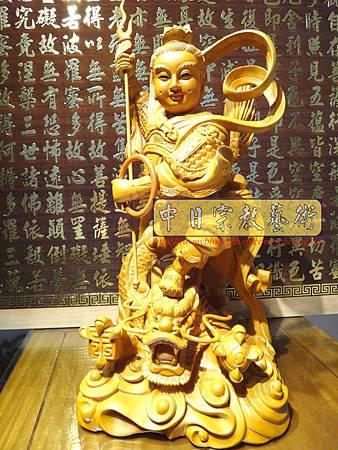 L3401.三太子神像雕刻 站龍太子爺.JPG
