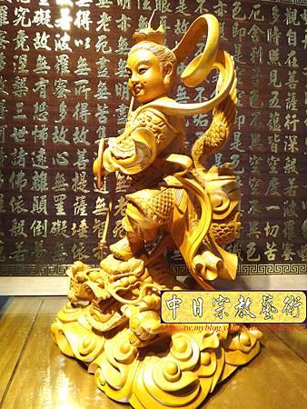 L3404.三太子神像雕刻 站龍太子爺.JPG