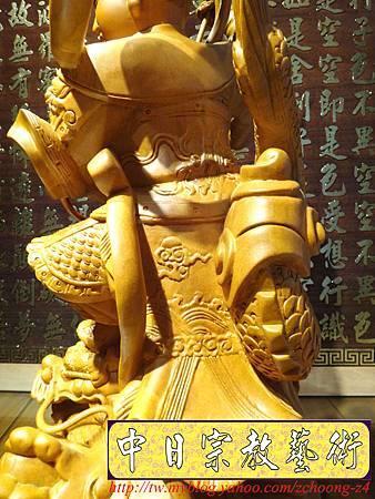 L3415.三太子神像雕刻 站龍太子爺.JPG