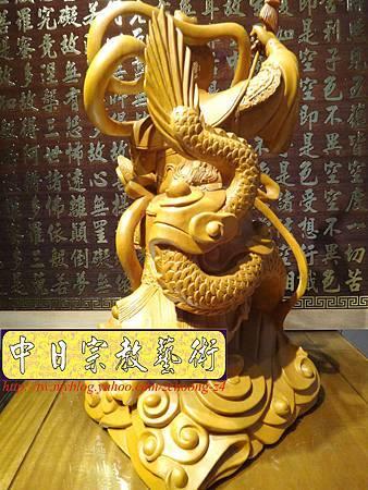 L3416.三太子神像雕刻 站龍太子爺 (2).JPG