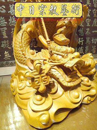 L3422.三太子神像雕刻 站龍太子爺.JPG
