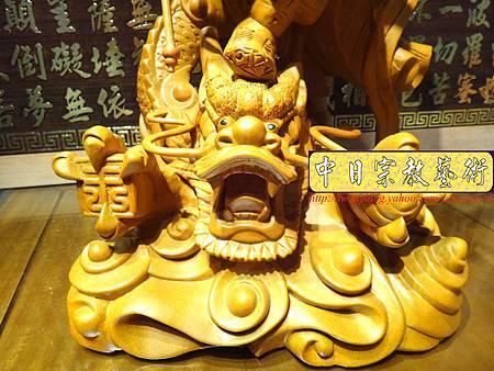 L3424.三太子神像雕刻 站龍太子爺.JPG