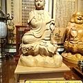 L3506.神桌佛像雕刻自在觀音木雕神像 神明貼座.JPG