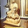 L3507.神桌佛像雕刻自在觀音木雕神像 神明貼座.JPG