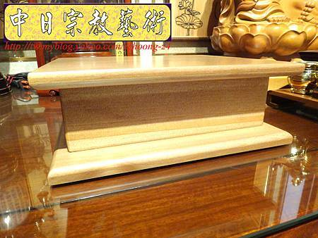 L3512.神桌佛像雕刻自在觀音木雕神像 神明貼座.JPG