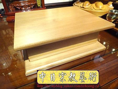 L3517.神桌佛像雕刻自在觀音木雕神像 神明貼座.JPG