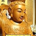 L3604.神桌神像雕刻~九天玄女木雕佛像.JPG