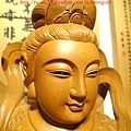 L3605.神桌神像雕刻~九天玄女木雕佛像.JPG