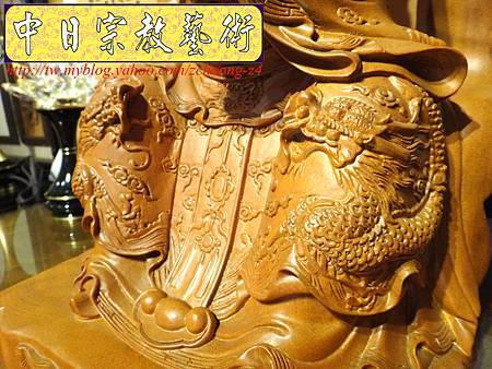 L3610.神桌神像雕刻~九天玄女木雕佛像.JPG