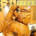 L3613.神桌神像雕刻~九天玄女木雕佛像.JPG