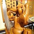 L3617.神桌神像雕刻~九天玄女木雕佛像.JPG