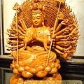 L3701.千手千眼觀音木雕佛像 神桌神像雕刻.JPG