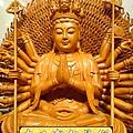 L3703.千手千眼觀音木雕佛像 神桌神像雕刻.JPG