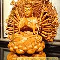 L3710.千手千眼觀音木雕佛像 神桌神像雕刻.JPG