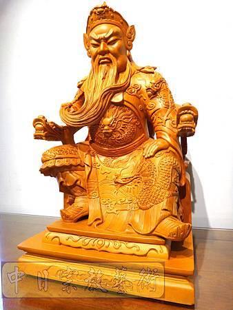 L3813.關聖帝君神像雕刻.JPG