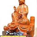L3906.極緻神桌佛像雕刻 自在觀世音菩薩神像雕刻 極彩描金製做.JPG