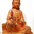 L3920.極緻神桌佛像雕刻 自在觀世音菩薩神像雕刻 極彩描金製做.JPG