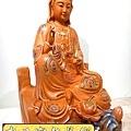 L3919.極緻神桌佛像雕刻 自在觀世音菩薩神像雕刻 極彩描金製做.JPG