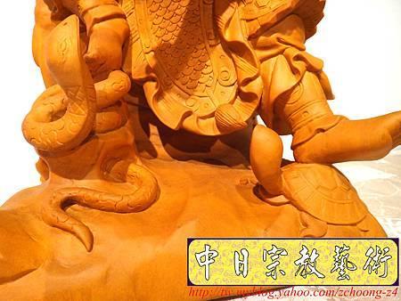 L4007.極致神桌神像雕刻~北極玄天上帝.JPG