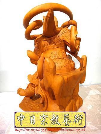 L4015.極致神桌神像雕刻~北極玄天上帝.JPG