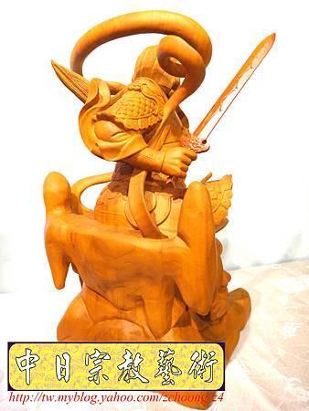 L4018.極致神桌神像雕刻~北極玄天上帝.JPG