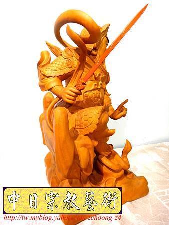 L4019.極致神桌神像雕刻~北極玄天上帝.JPG