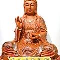 L4103.極緻神桌佛像雕刻~觀世音菩薩木雕佛像 極彩描金製做.JPG