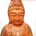 L4105.極緻神桌佛像雕刻~觀世音菩薩木雕佛像 極彩描金製做.JPG