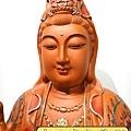 L4106.極緻神桌佛像雕刻~觀世音菩薩木雕佛像 極彩描金製做.JPG