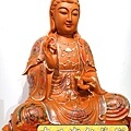 L4108.極緻神桌佛像雕刻~觀世音菩薩木雕佛像 極彩描金製做.JPG