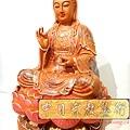L4112.極緻神桌佛像雕刻~觀世音菩薩木雕佛像 極彩描金製做.JPG