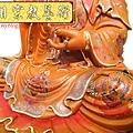 L4115.極緻神桌佛像雕刻~觀世音菩薩木雕佛像 極彩描金製做.JPG
