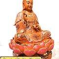 L4122.極緻神桌佛像雕刻~觀世音菩薩木雕佛像 極彩描金製做.JPG