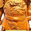 L4209.神桌神像精品雕刻~關公木雕藝品.JPG