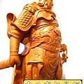 L4219.神桌神像精品雕刻~關公木雕藝品.JPG