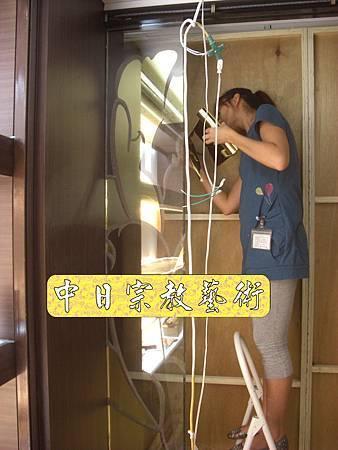 K1601.貼金箔工程 機場琉璃工房.JPG