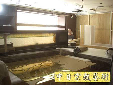 K1610.貼金箔工程 機場琉璃工房.JPG