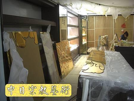 K1612.貼金箔工程 機場琉璃工房.JPG