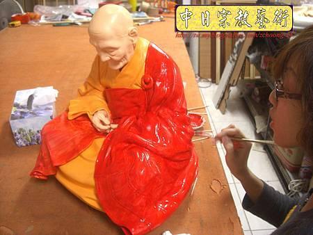 K2117.廣欽老和尚陶瓷像整修彩繪.JPG