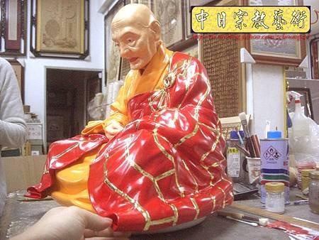 K2123.廣欽老和尚陶瓷像整修彩繪.JPG