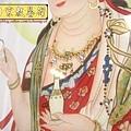 D1408.手繪神桌佛聯~西方三聖(鑲鑽版).JPG