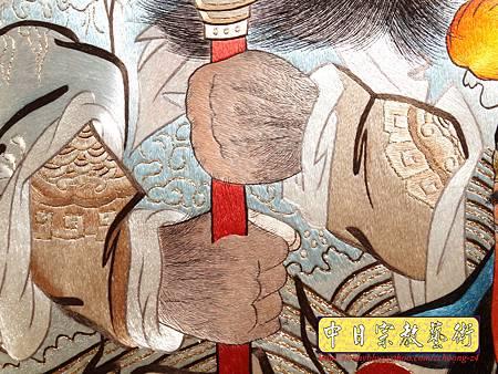G2411.LV級手工刺繡關聖帝君像.JPG